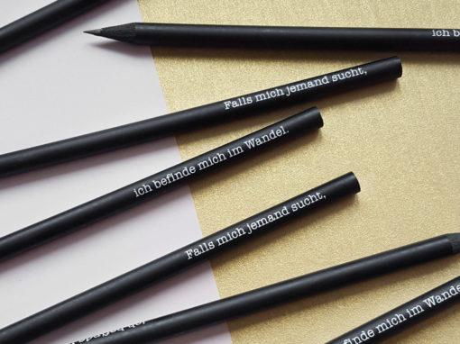 Spruch-Bleistifte