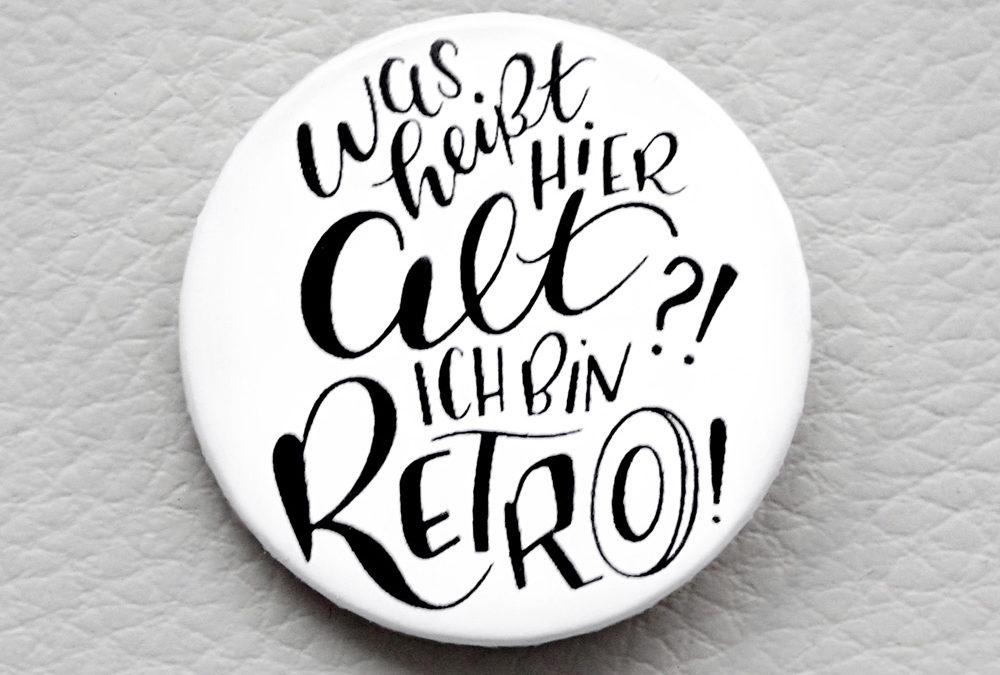 Retro Button